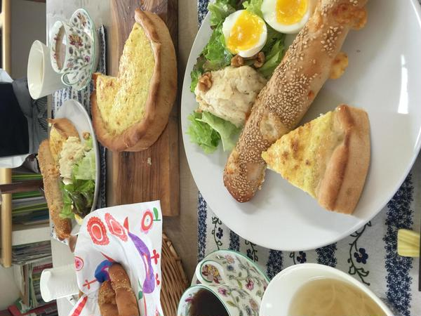 食の安全セミナー 鶏卵魚編の日のメニュー