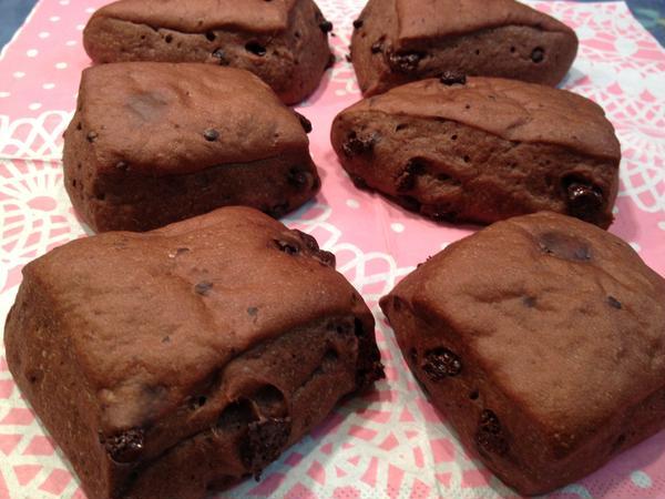 7月☆ブラウニー チョコレートたっぷり、子供が大喜び!