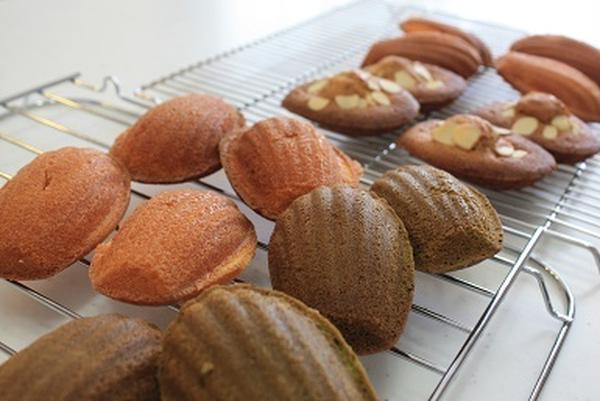 7、8月のお菓子は、マドレーヌとダイアモンドクッキー!