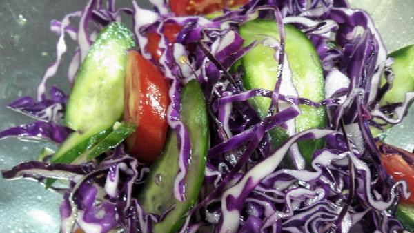 第2回目、基本のサラダ