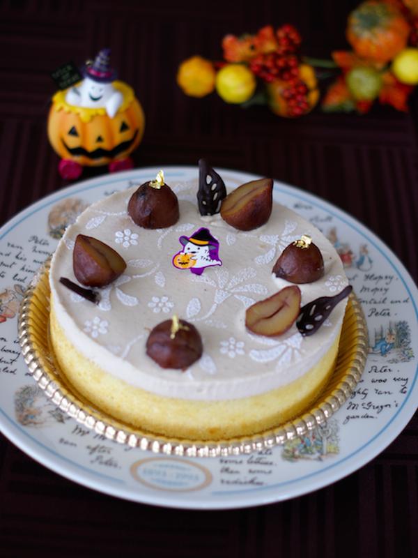 『マロンのムースケーキ』