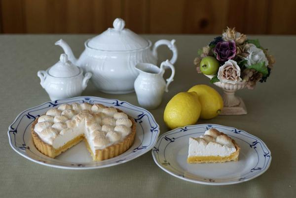 『ぷくぷくメレンゲとレモンのタルト』は、大人気でした。