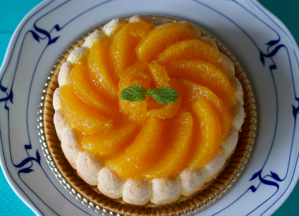 爽やかで夏にぴったり♪『フレッシュオレンジのシャルロト』。