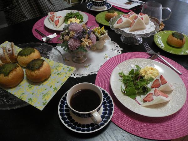 春色フルーツサンドイッチ♡