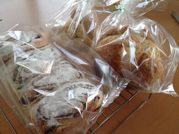 手作りパンは、手土産にもぴったりです