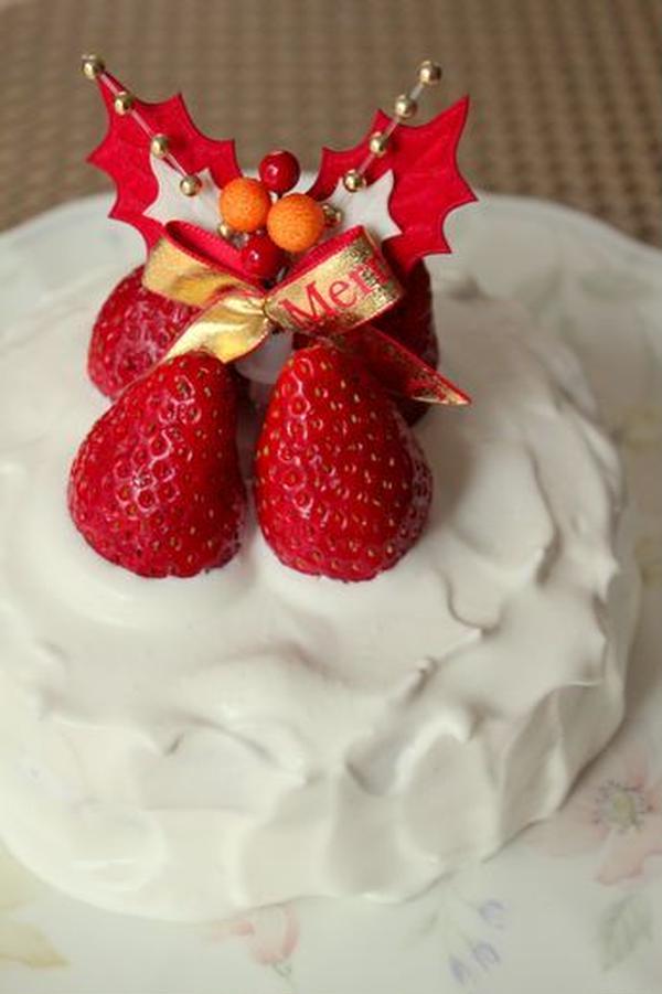 2012年12月【みかく講座】メニュー:苺のショートケーキ