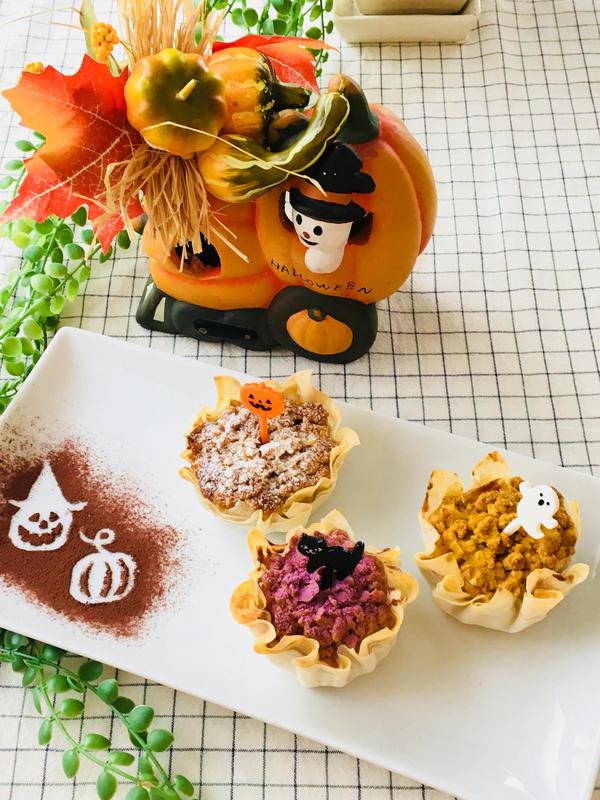 かぼちゃのパリパリタルト