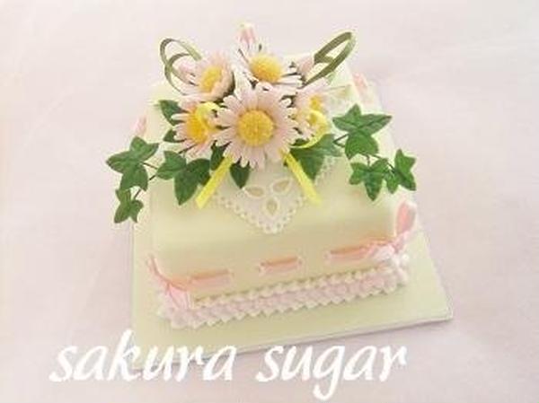 デイジーのケーキ(レギュラーレッスン・中級クラス)