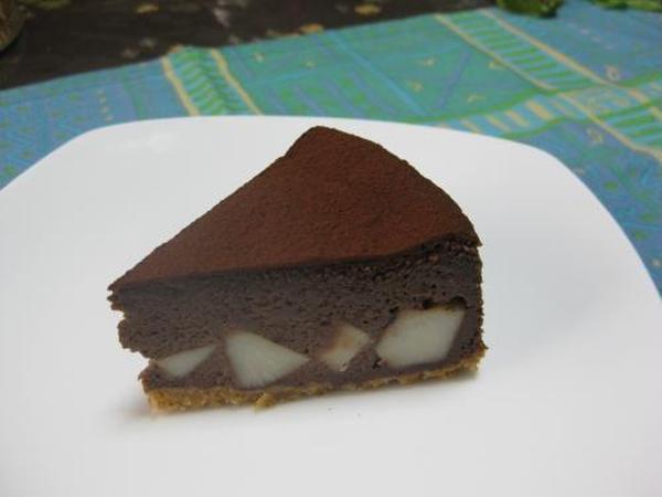 エビ芋のチョコレートケーキ