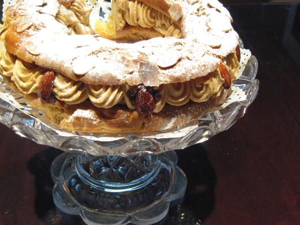 JHBS ケーキコース2の パリブレスト