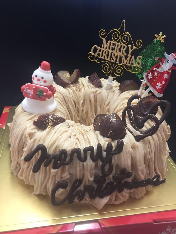 2019年 クリスマスケーキ!モンブラン