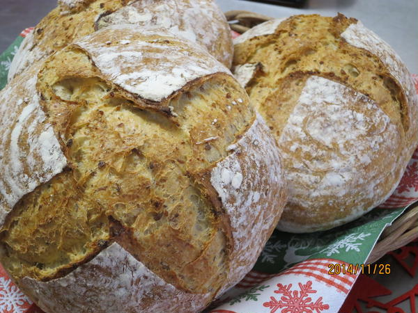 玄米のパン ハード系です