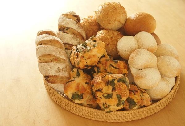天然酵母と国産小麦のパンたち