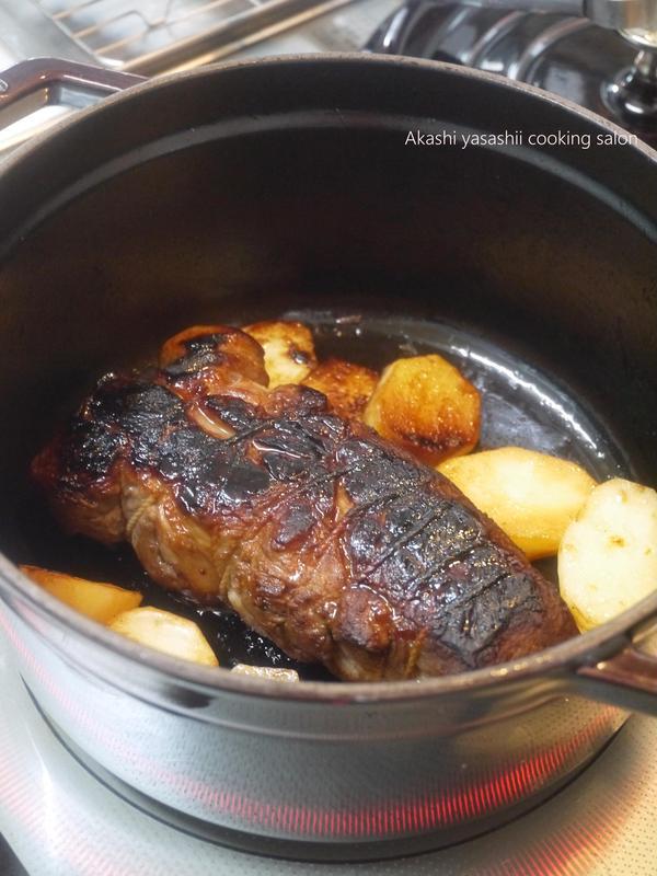 6・7月レッスンメニュー ストウブ鍋で作る焼豚