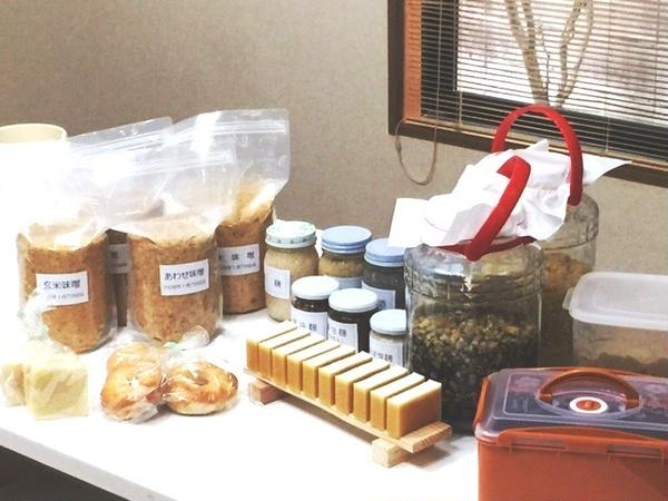 上級麹士講座では様々な発酵食品を造ります。