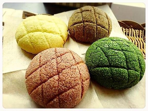 メロンパン専門店に習う4色メロンパン♡