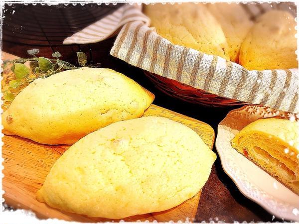 レモンメロンパン♡レモンチーズクリーム入り。7.8月限定です