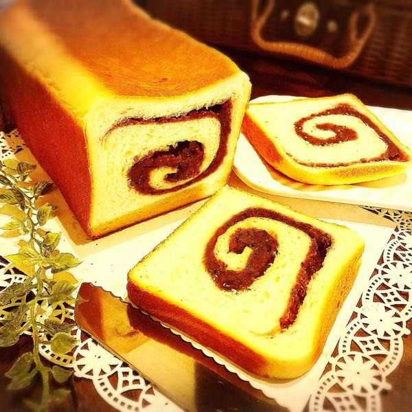 渦巻きあん食パン