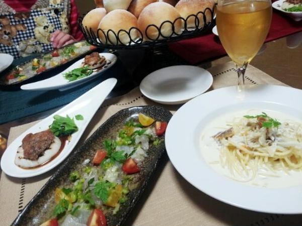魚料理は洋食に変身する事も。