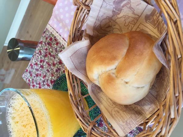 スイートメープル。優しいメープル風味のやわらかいパン♪