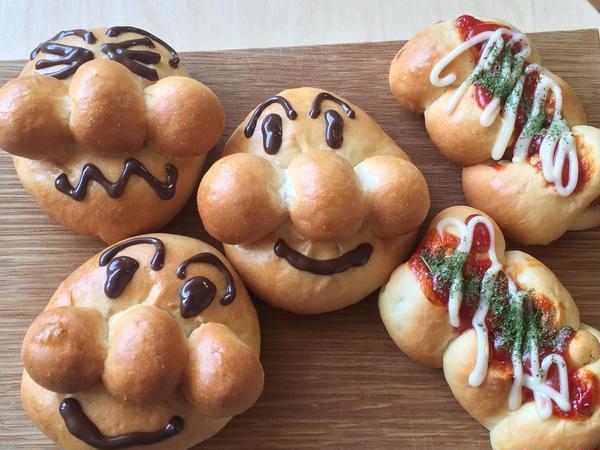 夏休みこどもパン教室