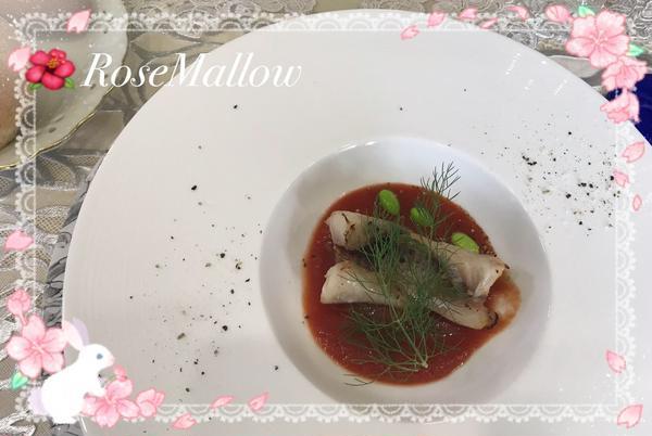 赤魚のオーブン焼きトマトソース添
