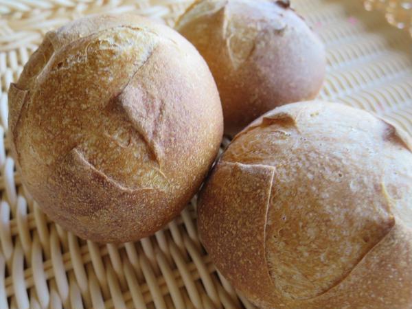 手ごねパンのコースです。