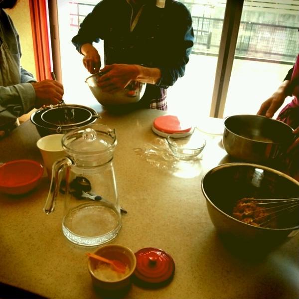 3月15日焼き菓子クラスの様子