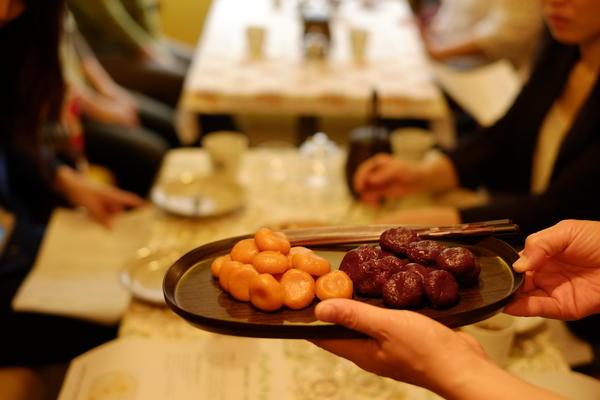 韓国伝統茶と伝統菓子の会 米粉と野菜のヘルシースィーツ