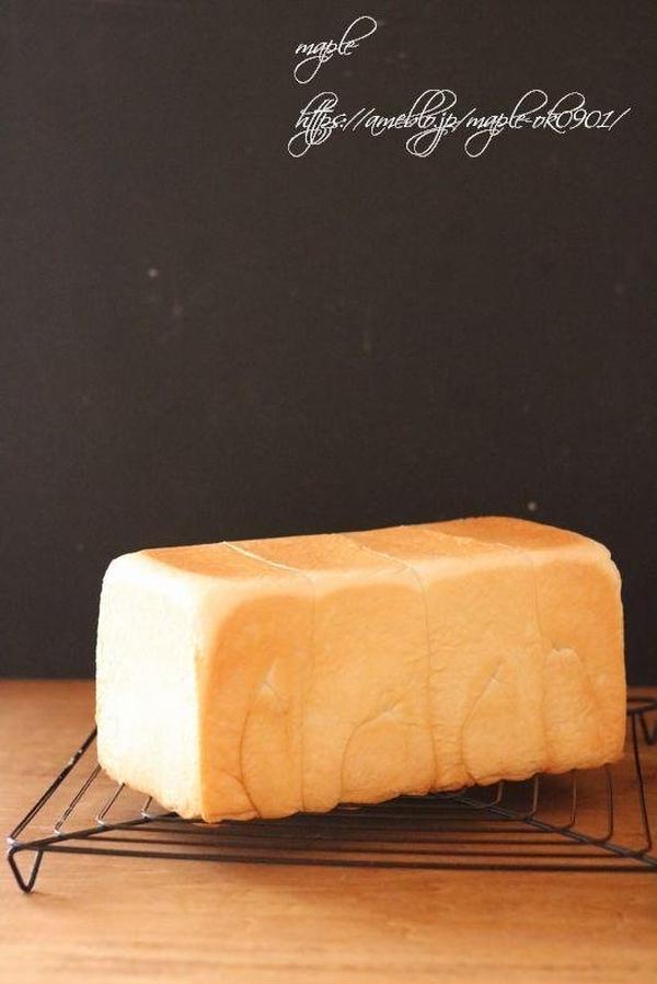 ミルク角食パンは 教室の1番人気!