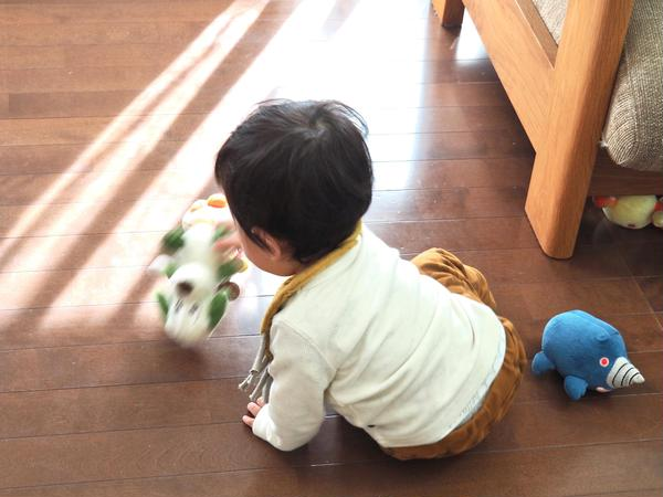 お子様はレッスン中、教室のおもちゃで自由に遊んでいただけます
