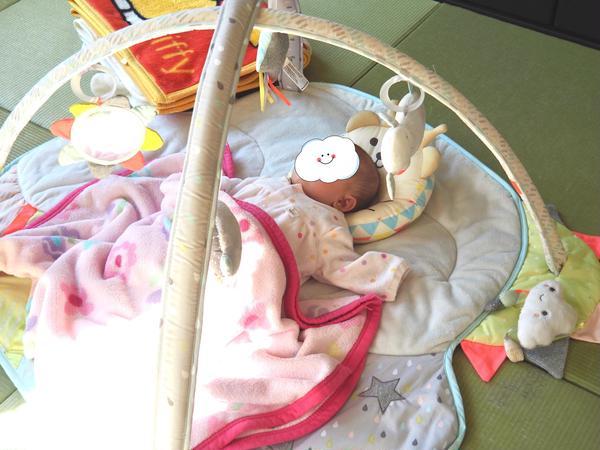 赤ちゃんはねんねでの参加もOK。私も癒される時間です♡