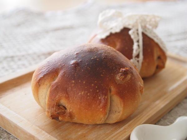 メープルと胡桃のふんわりパン