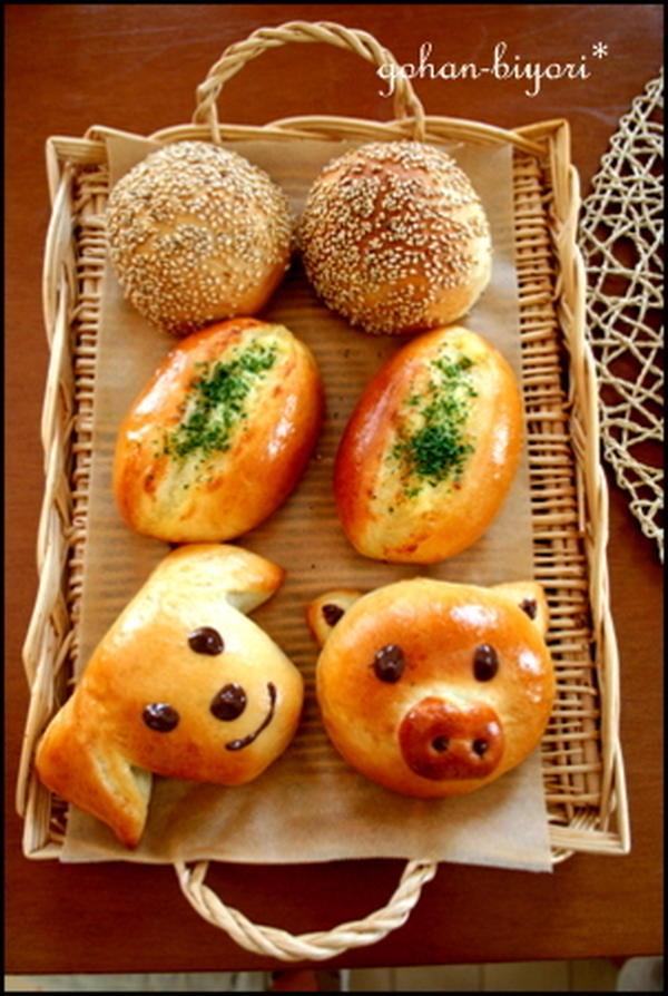 プチレッスン「1つの生地で3種のパン」