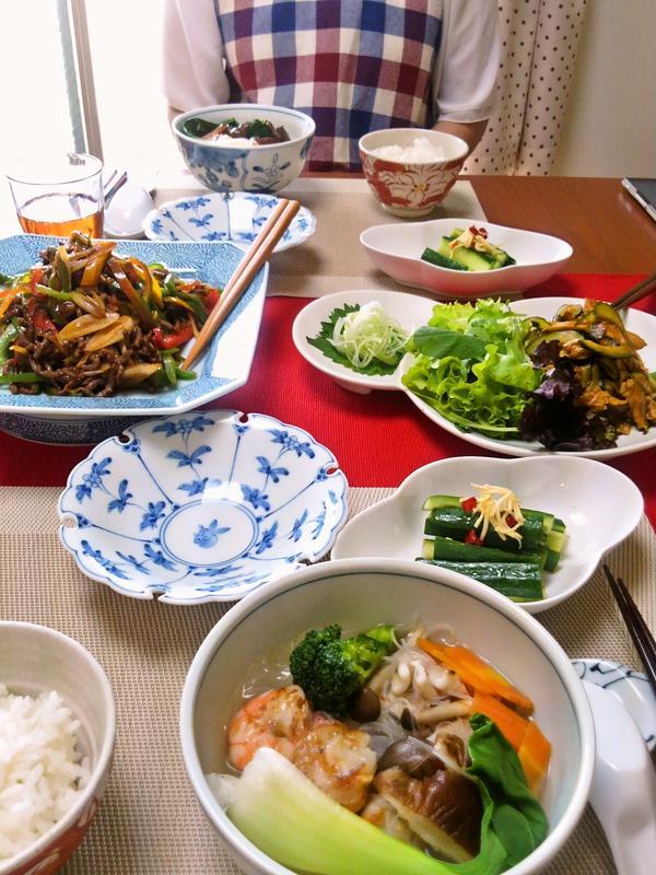 5月の中華レッスン。身近な食材のみで中華だしも作ります♪
