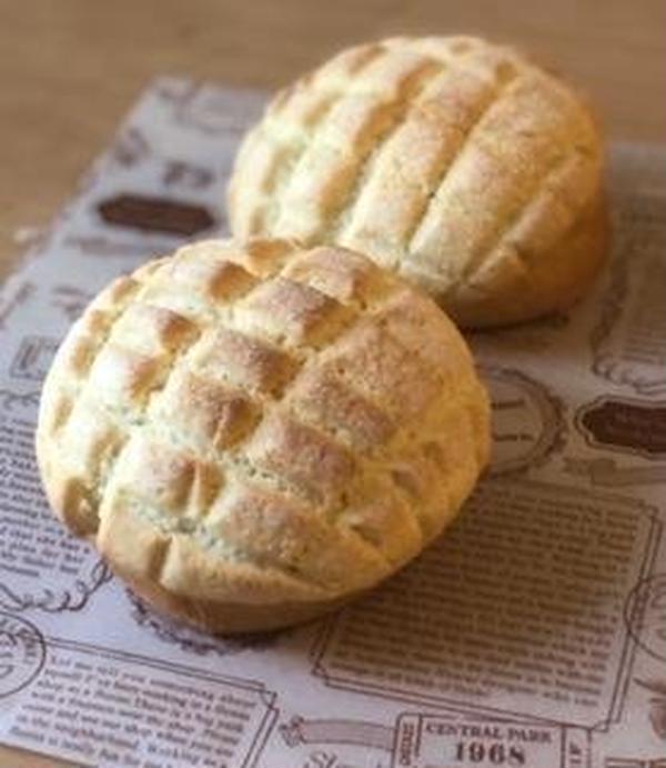 酒種酵母のメロンパン