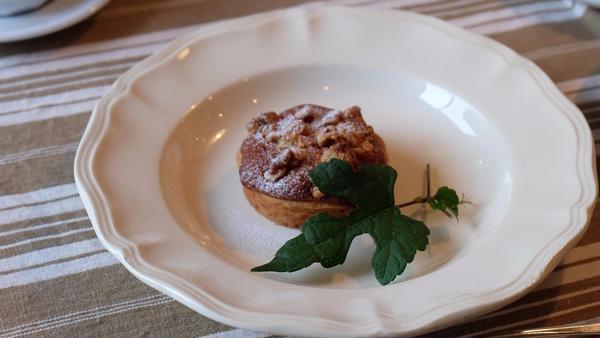 さつま芋と胡桃のクランブルタルト&キャロットケーキレッスン