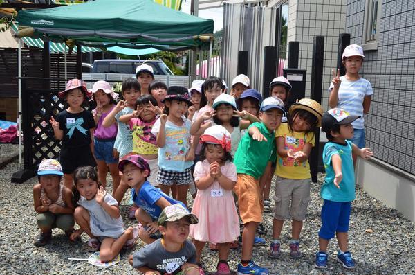イベントにはたくさんの子供たちが参加してくれました!