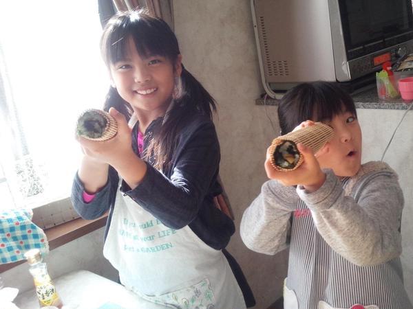 子ども料理教室 韓国海苔巻き
