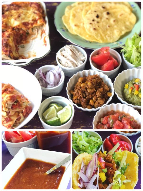 手作り調味料 トマトケチャップ作り&メキシコ料理
