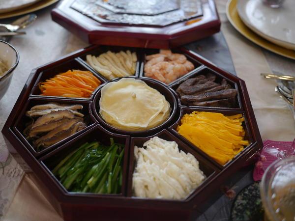 韓国宮中料理 九節板