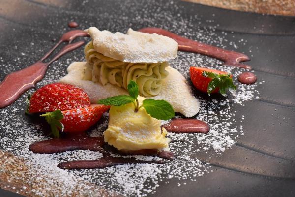 フランス料理デザート