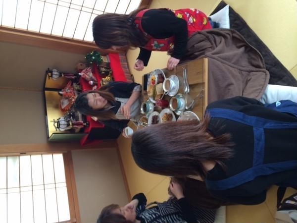 シフォンケーキは試食がいっぱいですよ。