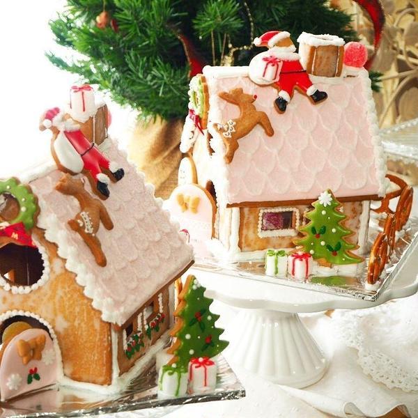 お菓子の家作り