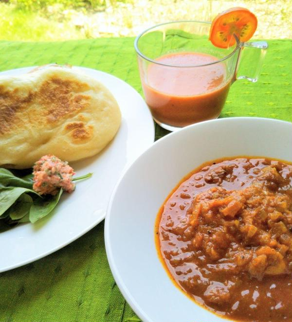 インドカレー&手焼きナン