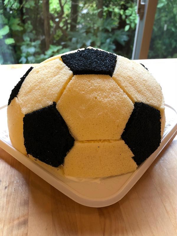 サッカーボールケーキレッスン