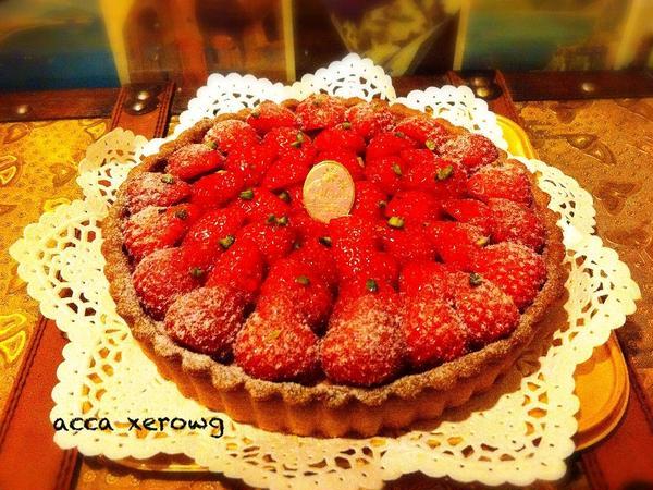 山﨑ゆきのケーキレッスン イチゴのタルト