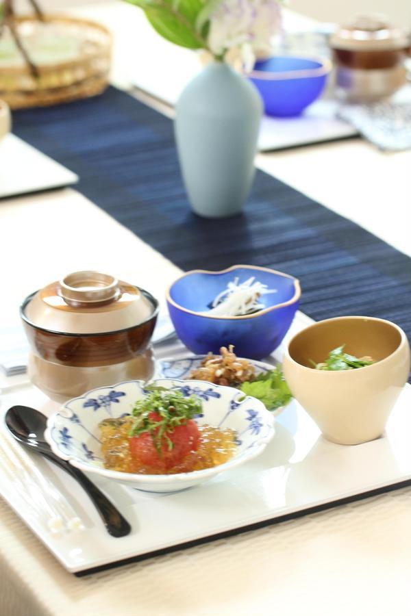 日本料理 鯵の出汁茶漬け他