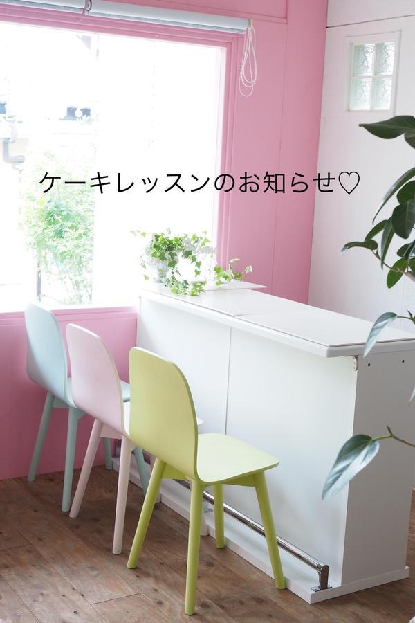 広いカフェスペースでのレッスンです。