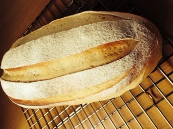 豆乳ブレッドときなこのぼうしパン